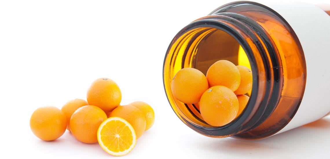 درمان با ویتامین c